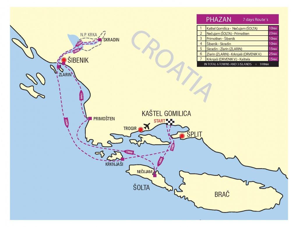 Regatta Map
